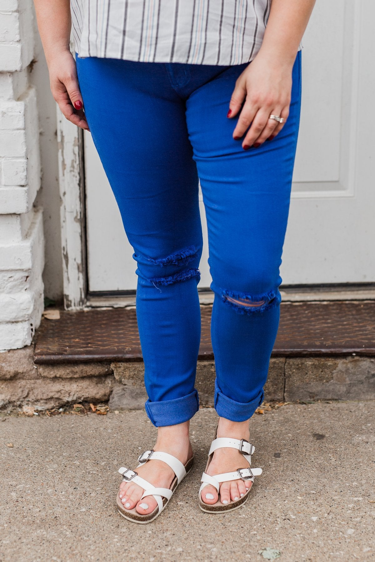 KanCan Colored Skinny Jeans Royal Blue – The Pulse Boutique