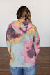 A Colorful Life Tie Dye Hoodie- Multi-Color