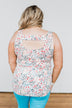 Love To Give Floral Tank Top- Ivory