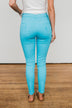 Celebrity Pink Distressed Skinny Jeans- Light Blue