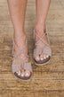 Very G Destiny Sandals- Blush