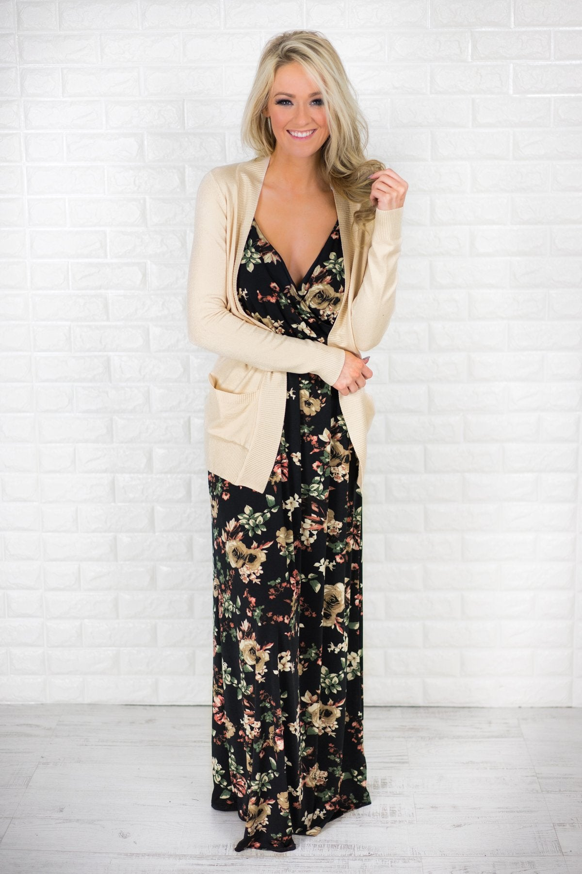 Favorite Fall Floral Maxi Dress