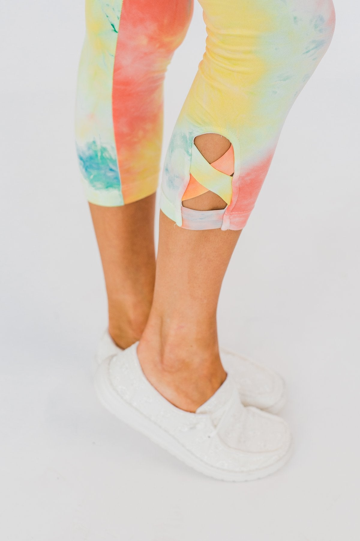 Another Adventure Tie Dye Leggings- Multi-Color