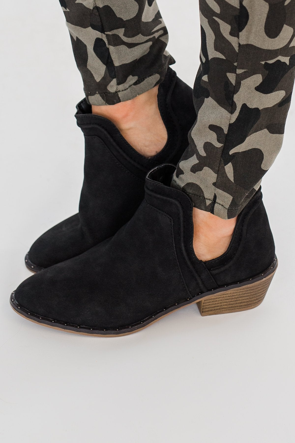 Sugar Envy Booties- Black