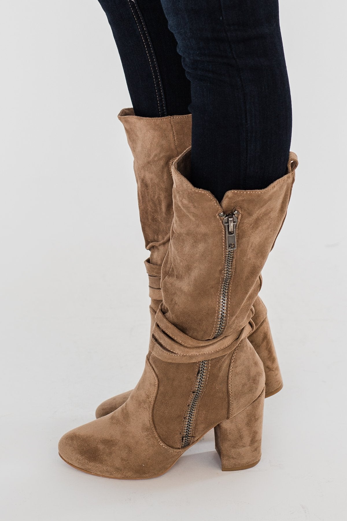 Very G Busy B Boots- Camel