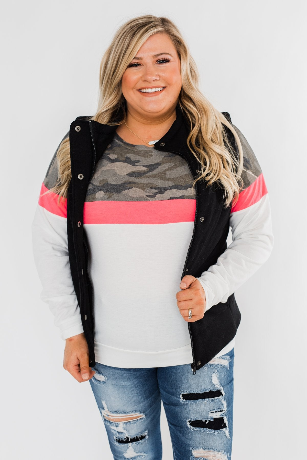 The Most Perfect Puffer Vest- Black