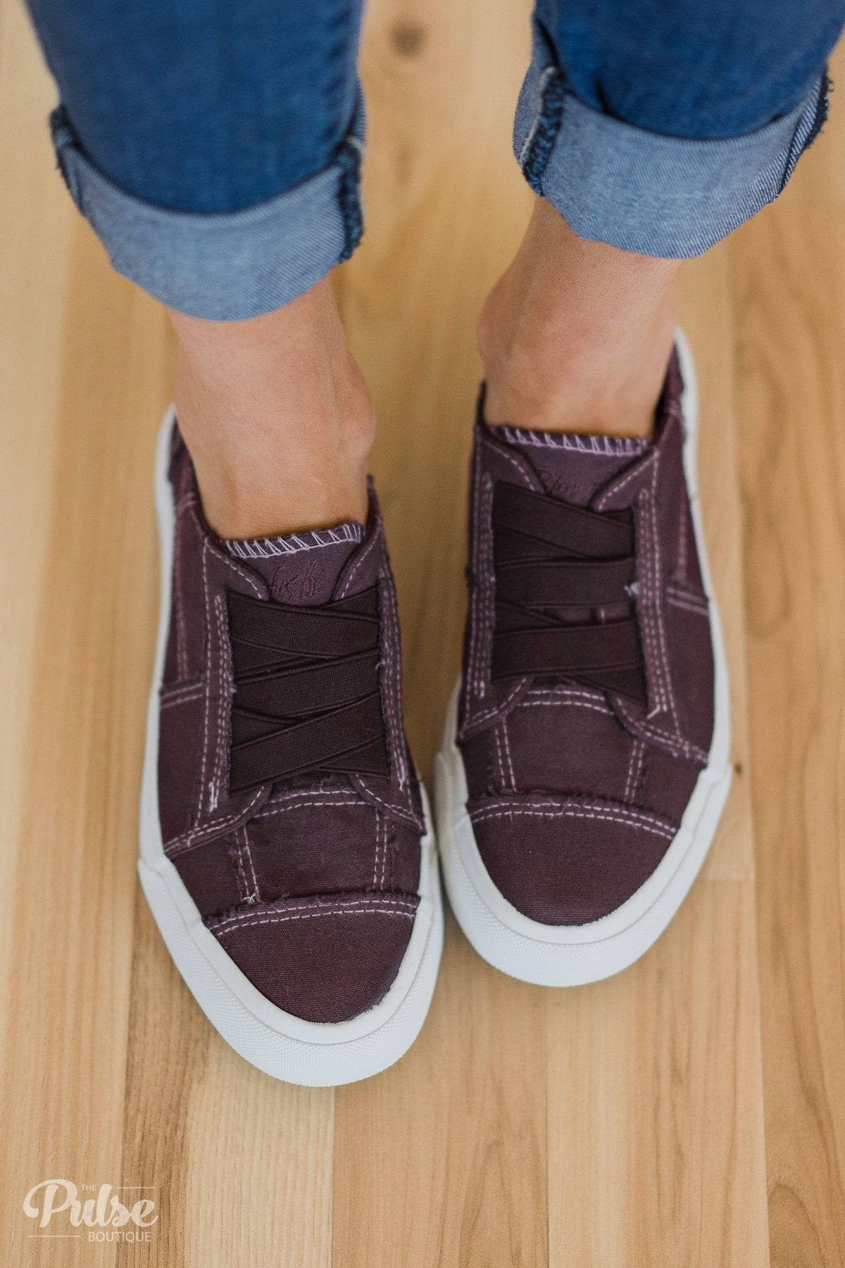 Blowfish Marley Sneakers- Deep Plum