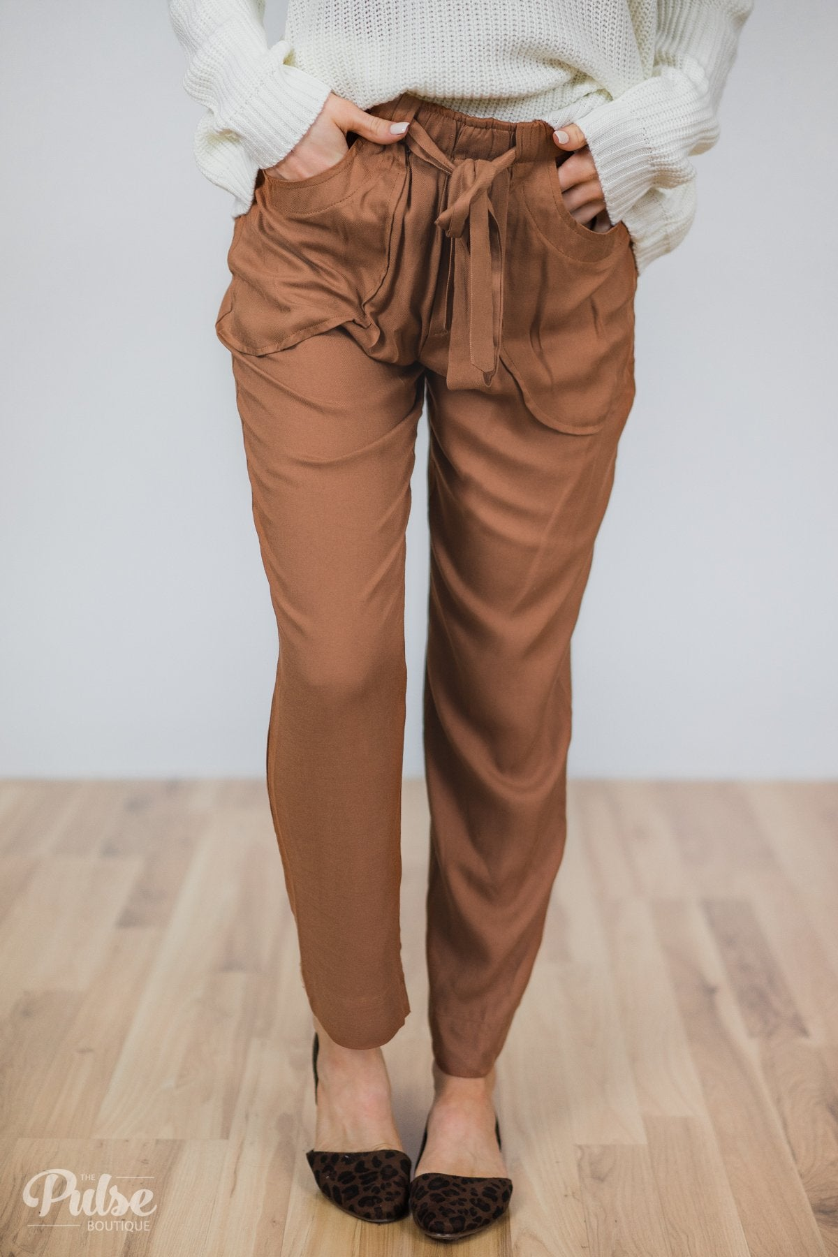Rust Orange Pants