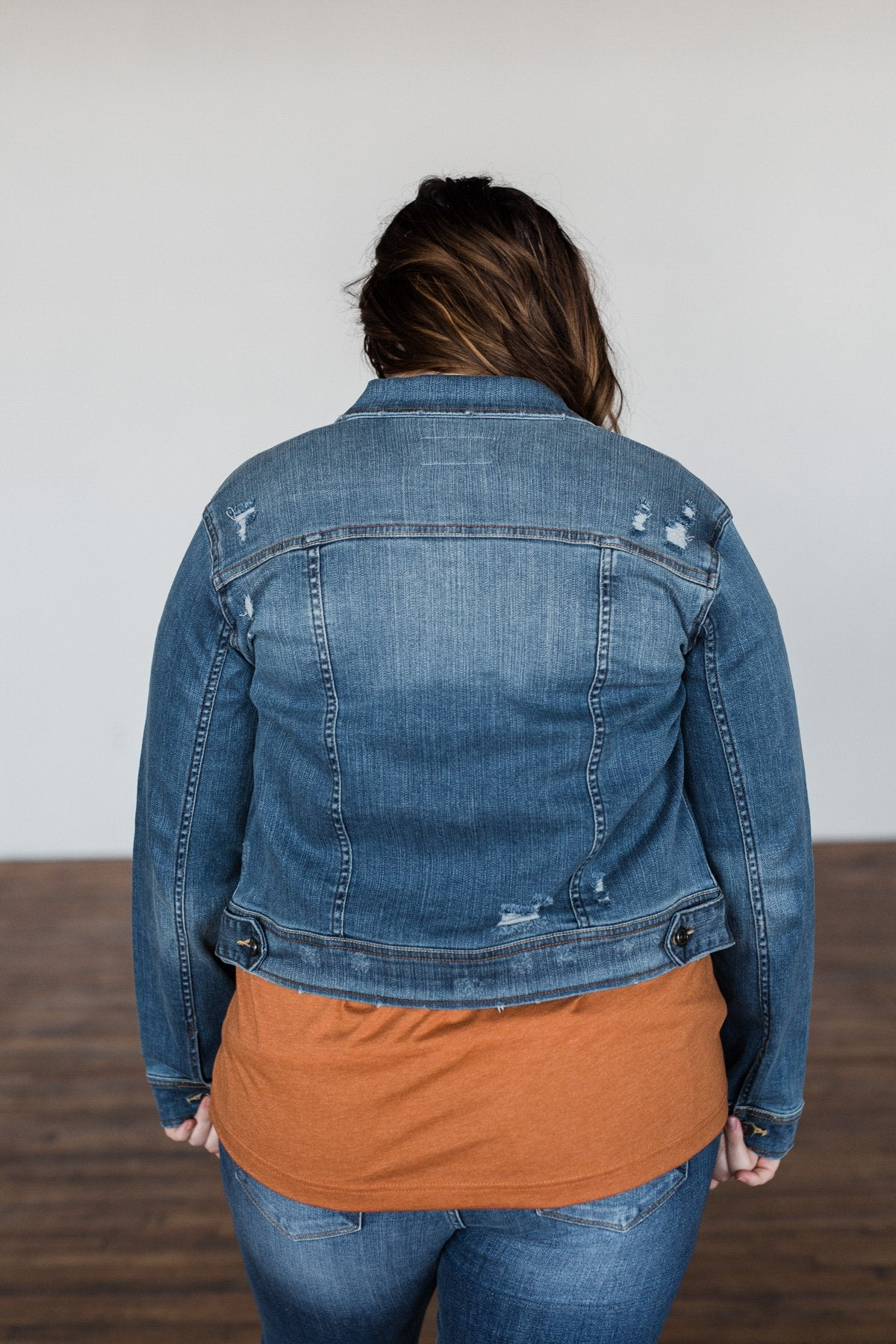 Have to Have Jean Jacket- Medium Wash
