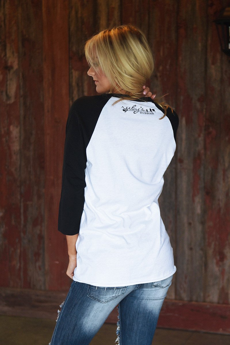 Awesome Wife Baseball Tee