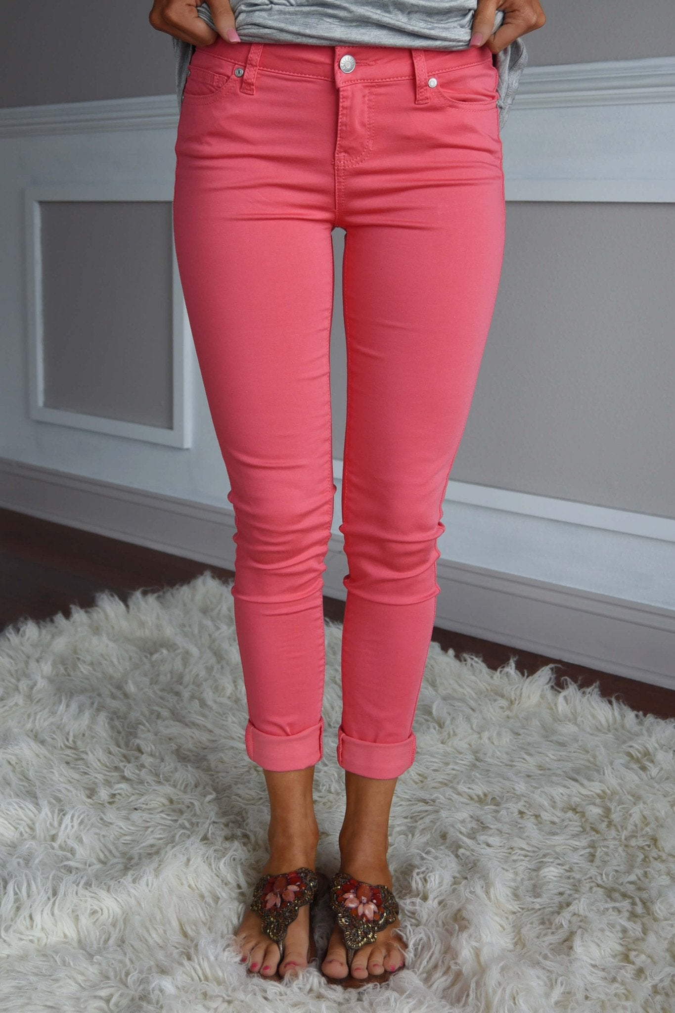 Calypso Coral Pants