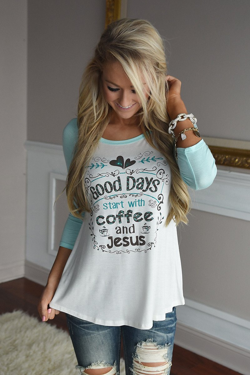Coffee & Jesus Tee