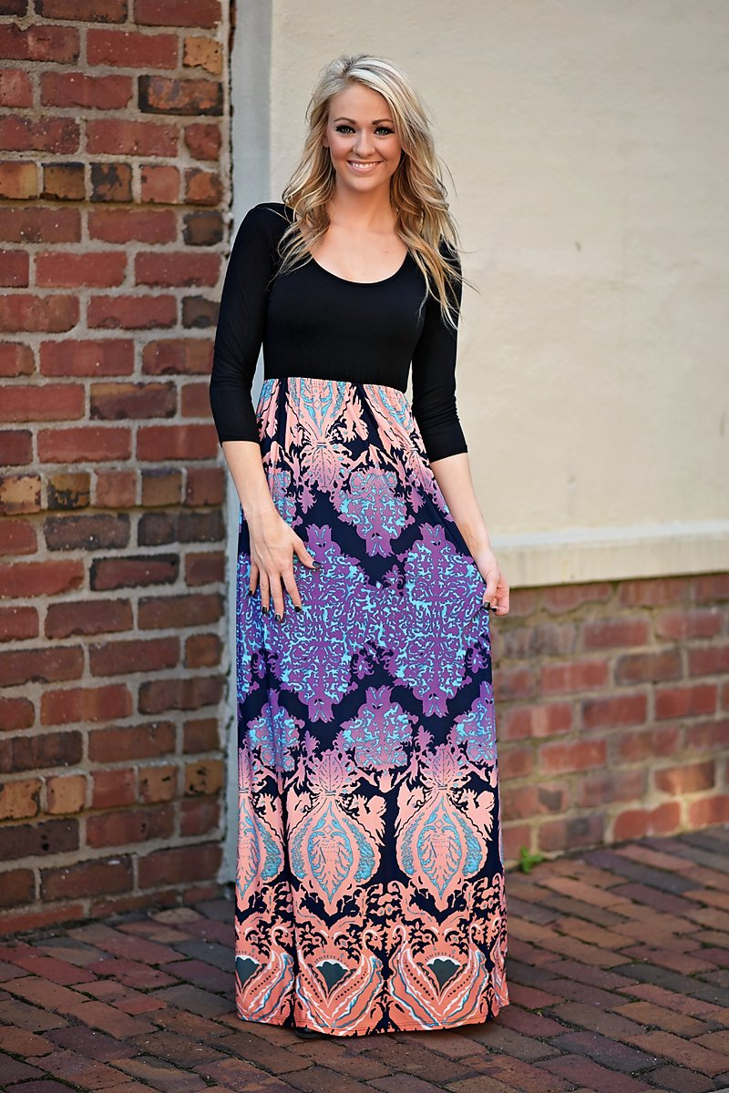 Dancing In The Moonlight Maxi Dress