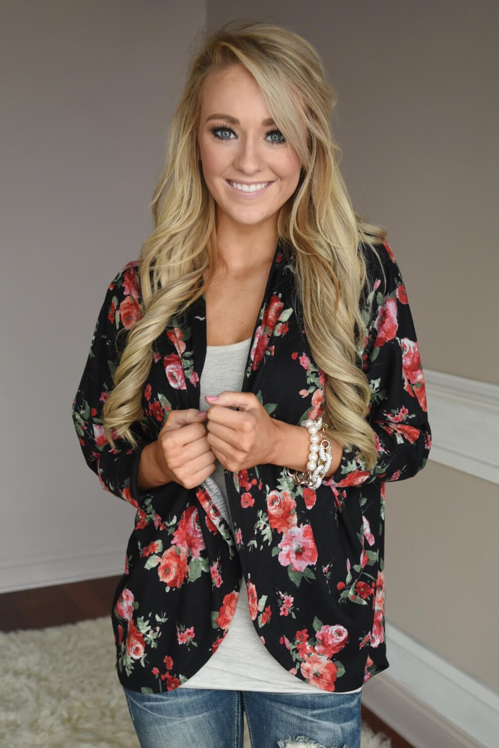 Floral Obsession Cardigan