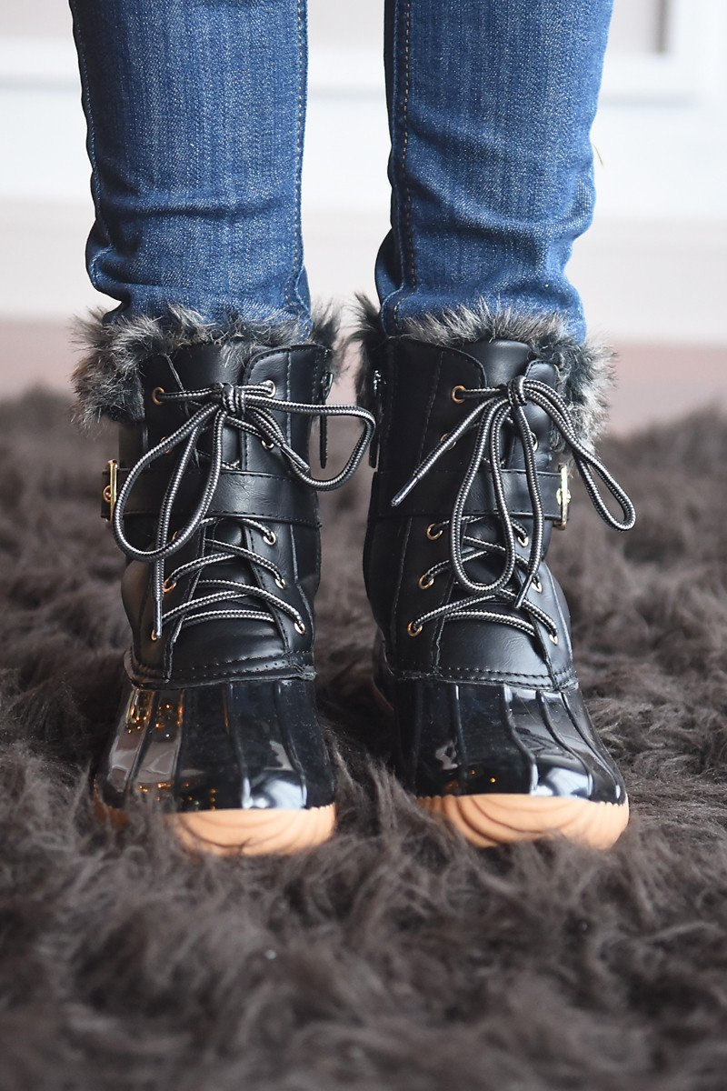 Duck Boots ~ Black