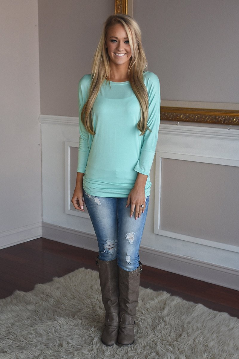 Essential Top - Mint
