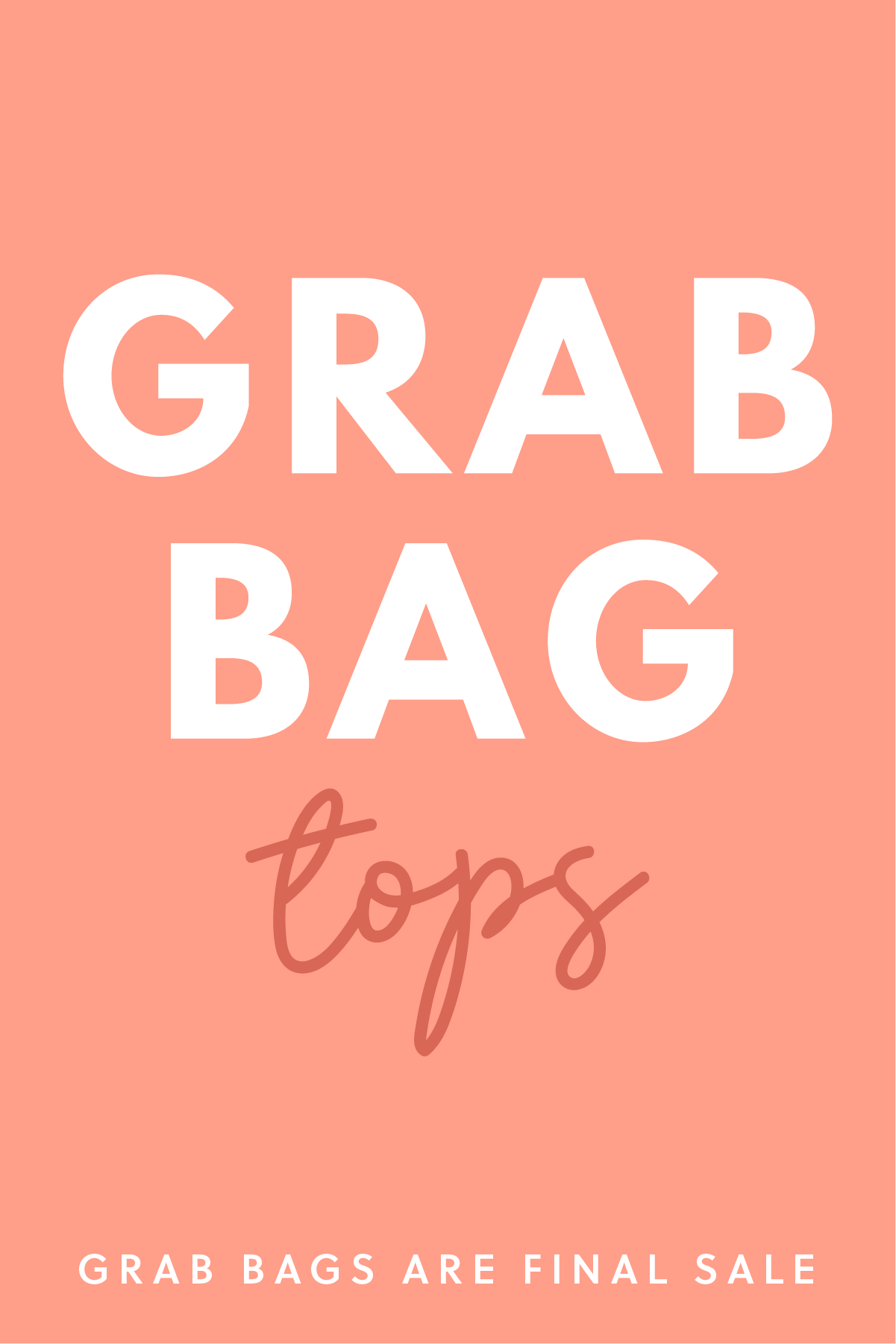 Grab Bag Tops- 3 Items