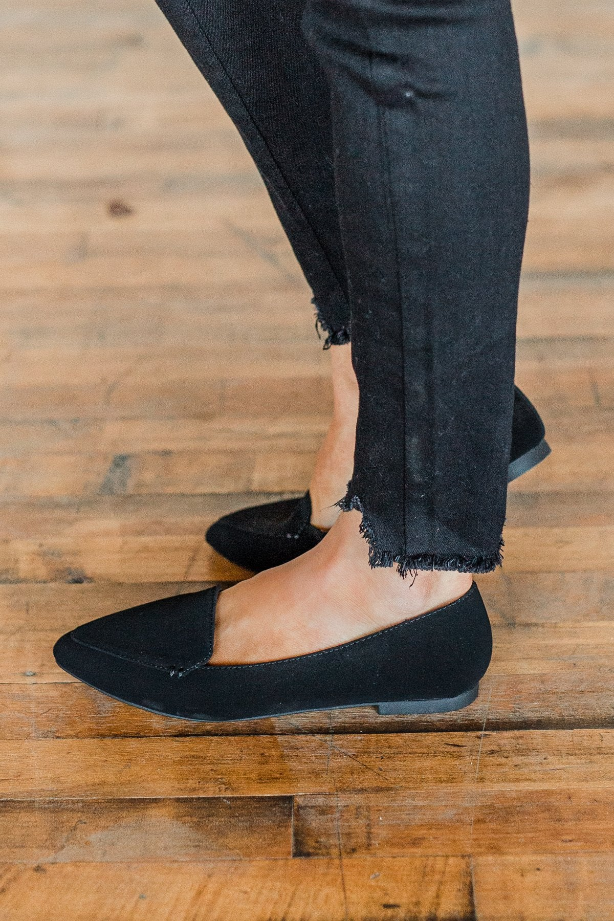 Soda Concept Loafers- Black