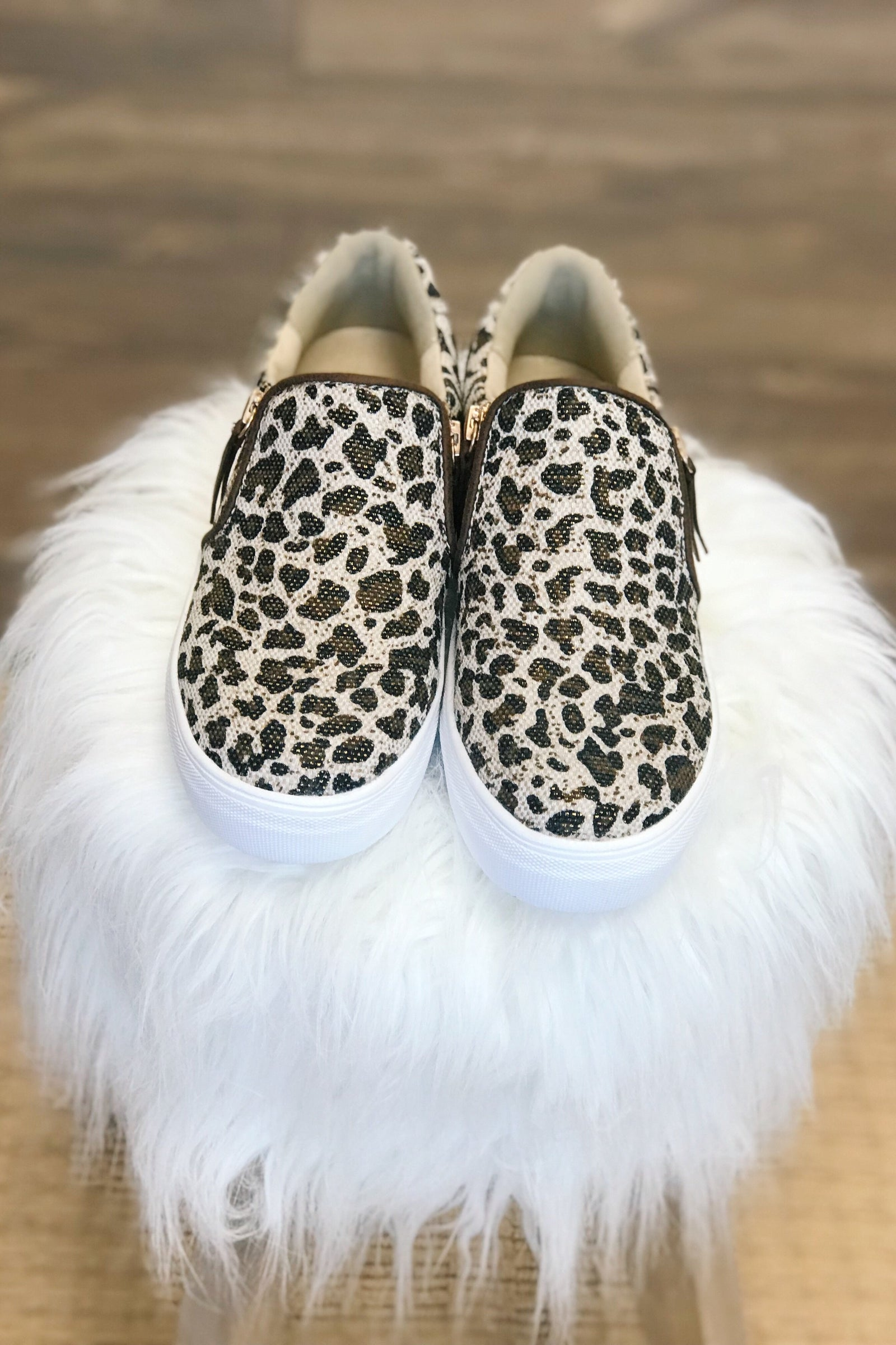 Not Rated Timbre Sneakers- Leopard