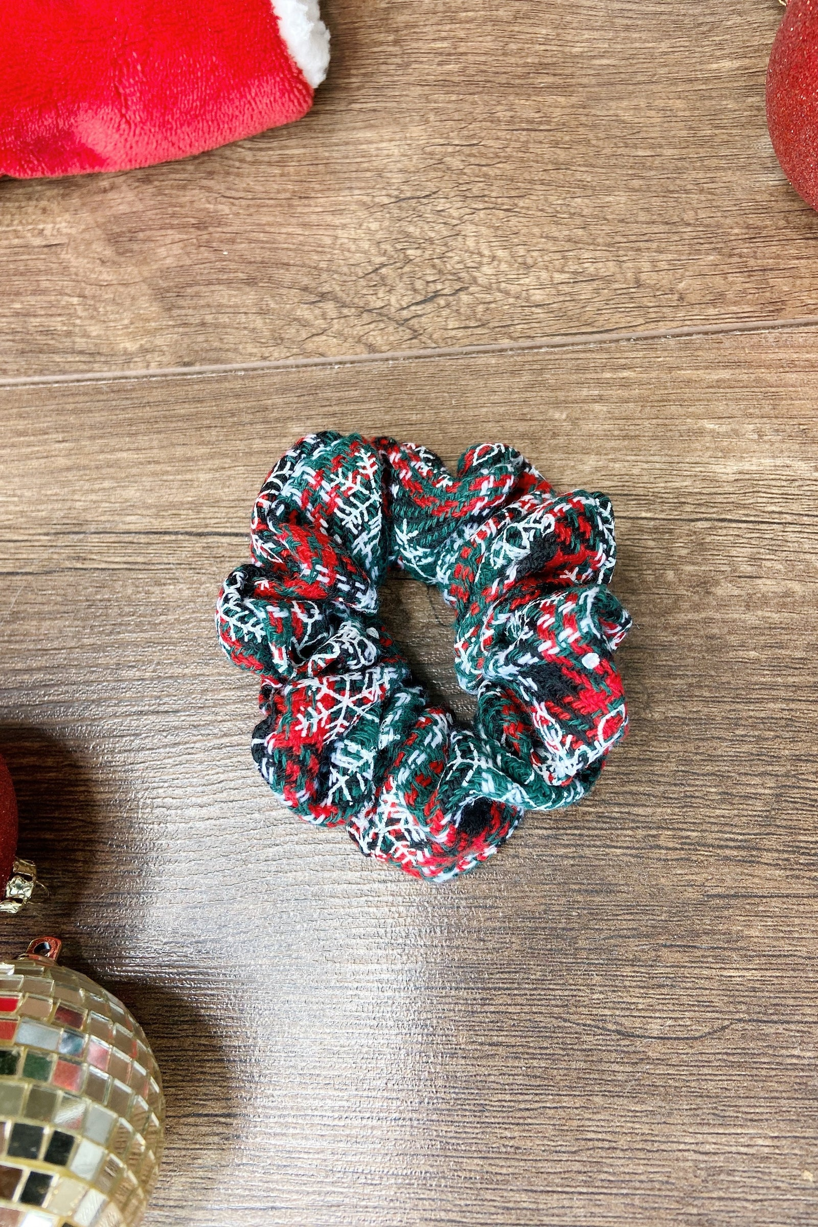 Festive Holiday Scrunchie Bundle- Set of 4