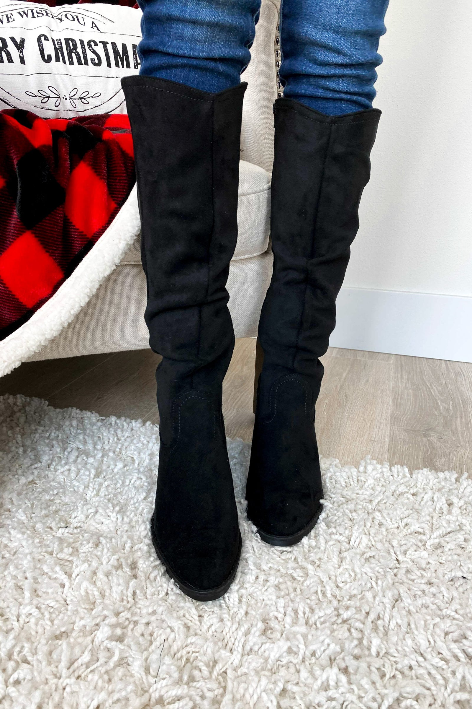 Very G Penny Boots- Black