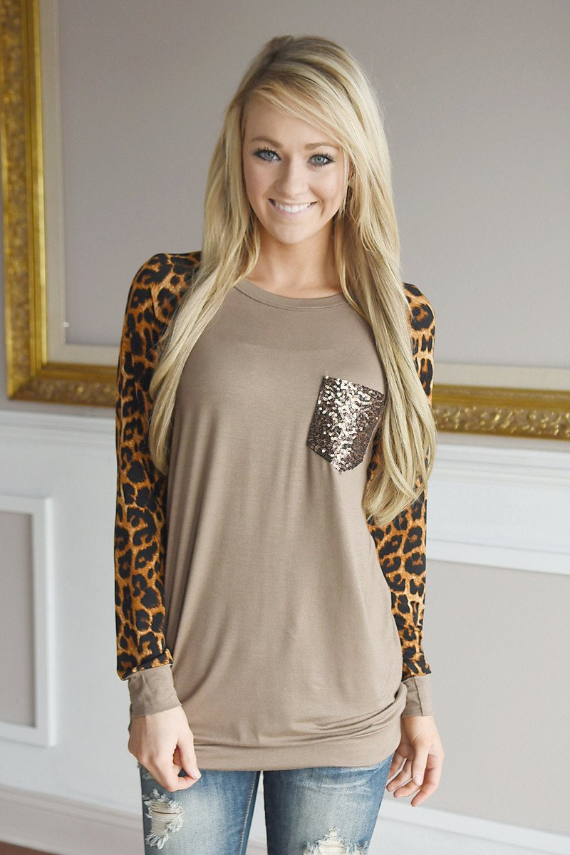 Irresistible In Leopard ~ Mocha