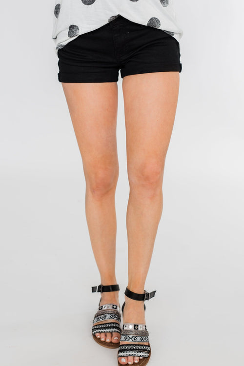 Celebrity Pink Cuff Shorts- Mary Wash