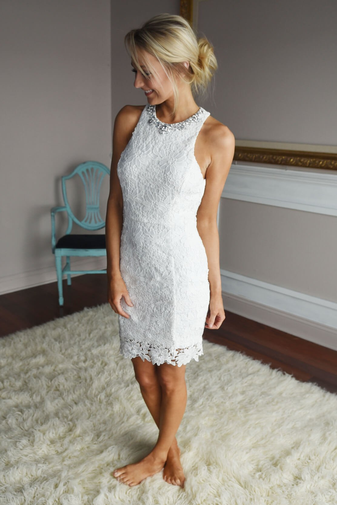 Irresistible in Lace ~ White