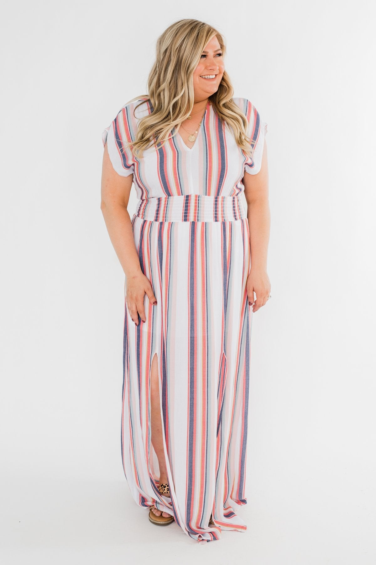True To You Colorful Maxi Dress- Multi-Colored