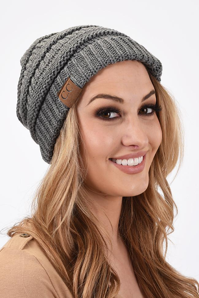CC Beanie - Light Grey