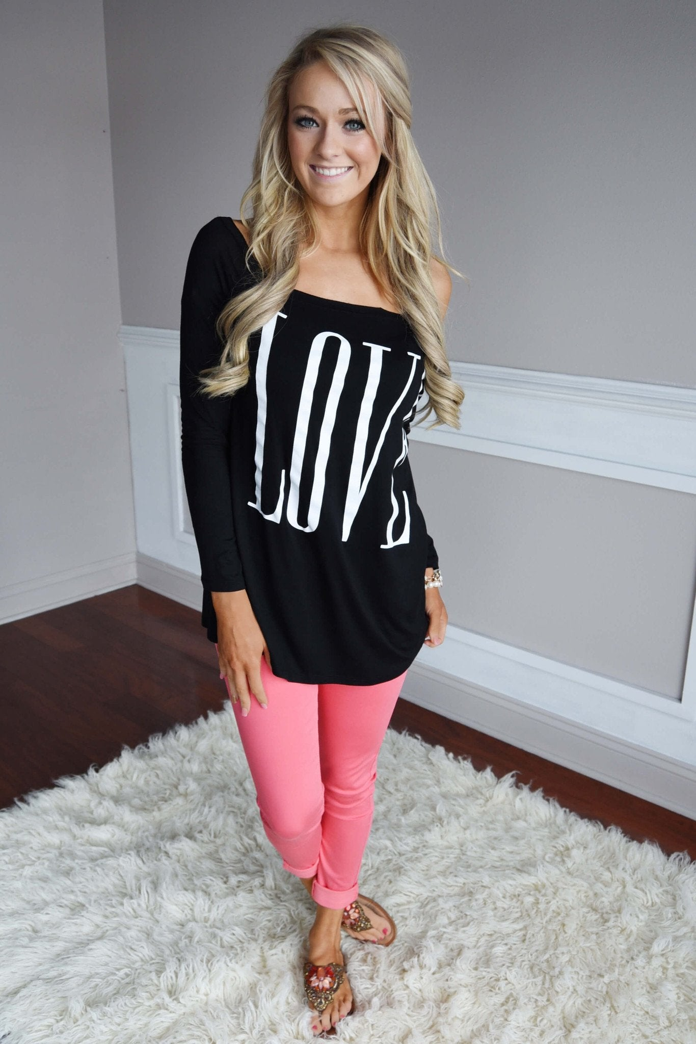 LOVE Slouchy Top