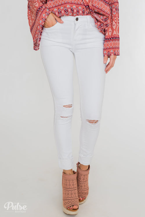 Kan Can Greta Jeans- White