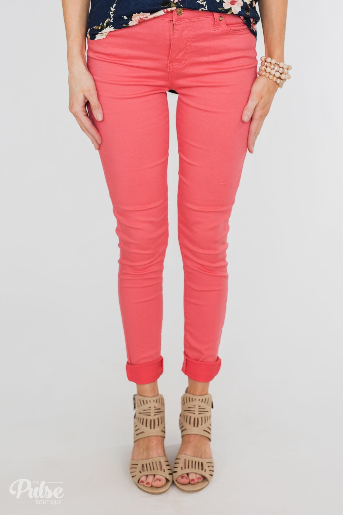 b37361fa95f Celebrity Pink Skinny Jeans- Lipstick – The Pulse Boutique