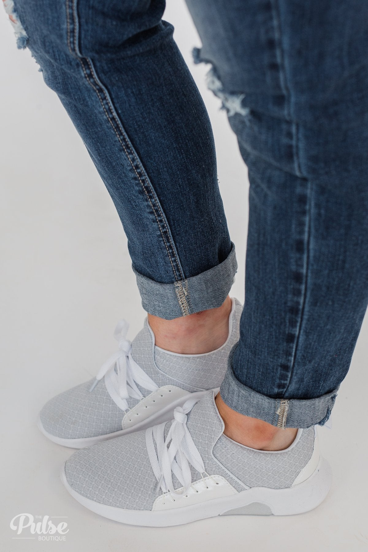 Not Rated DIDI Sneakers- White & Grey