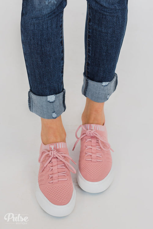 Blowfish Mazaki Sneakers- Dirty Pink Matrix
