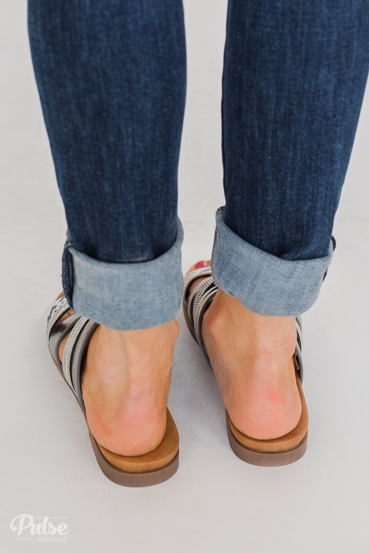 Very G Ginger Sandals- Pewter