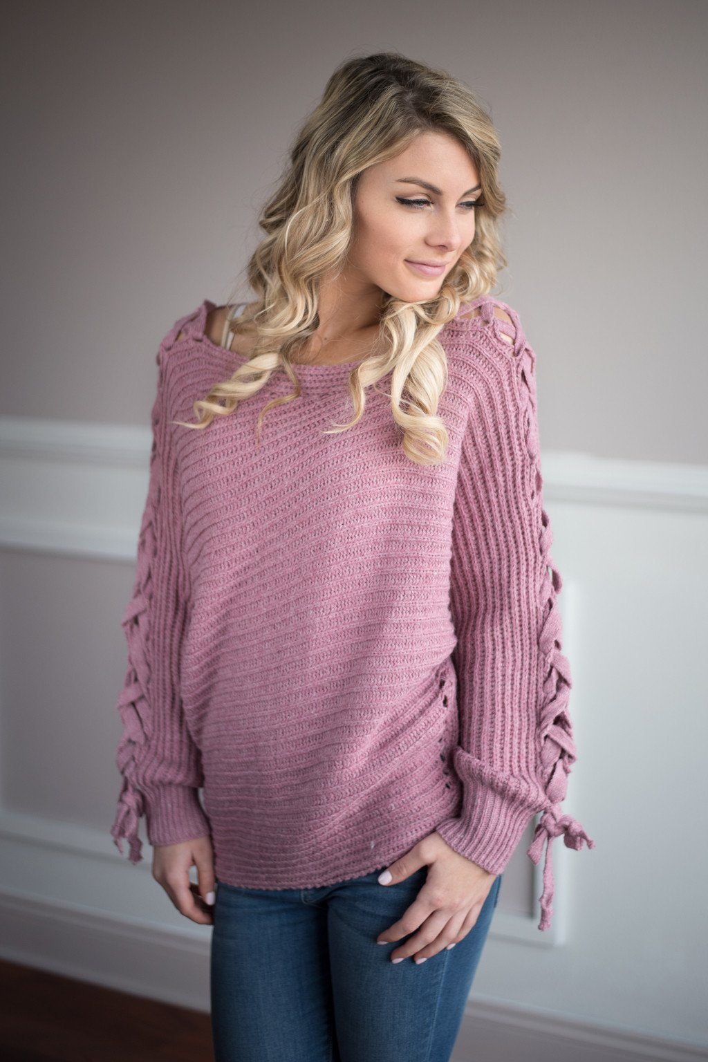 Be My Miracle Sweater Pink