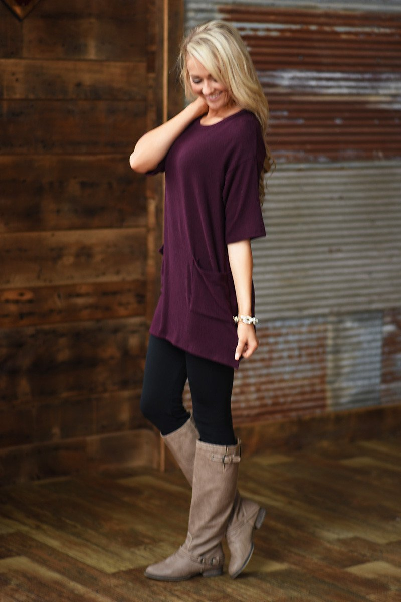 Oh So Comfy Tunic Top