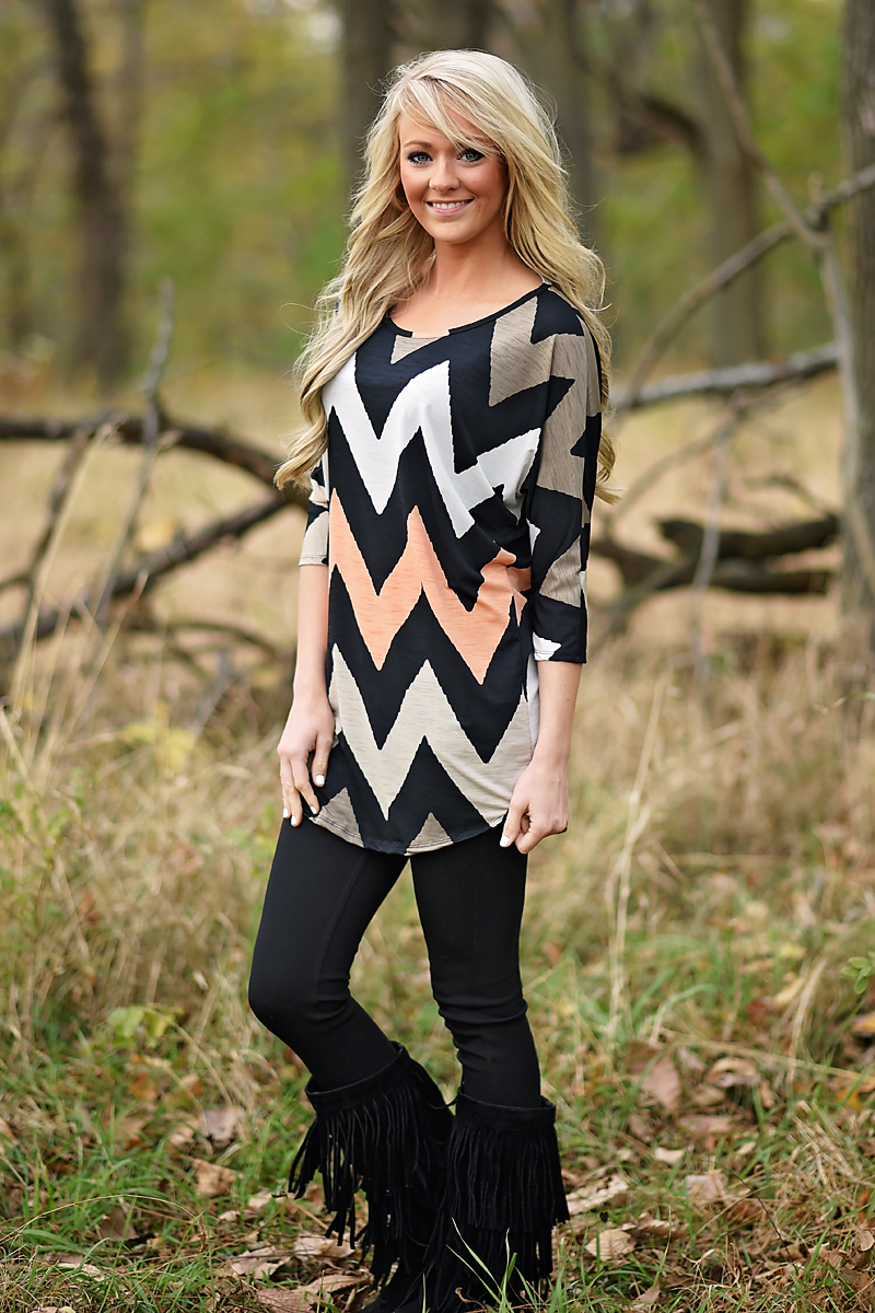 Open Season Tunic Top