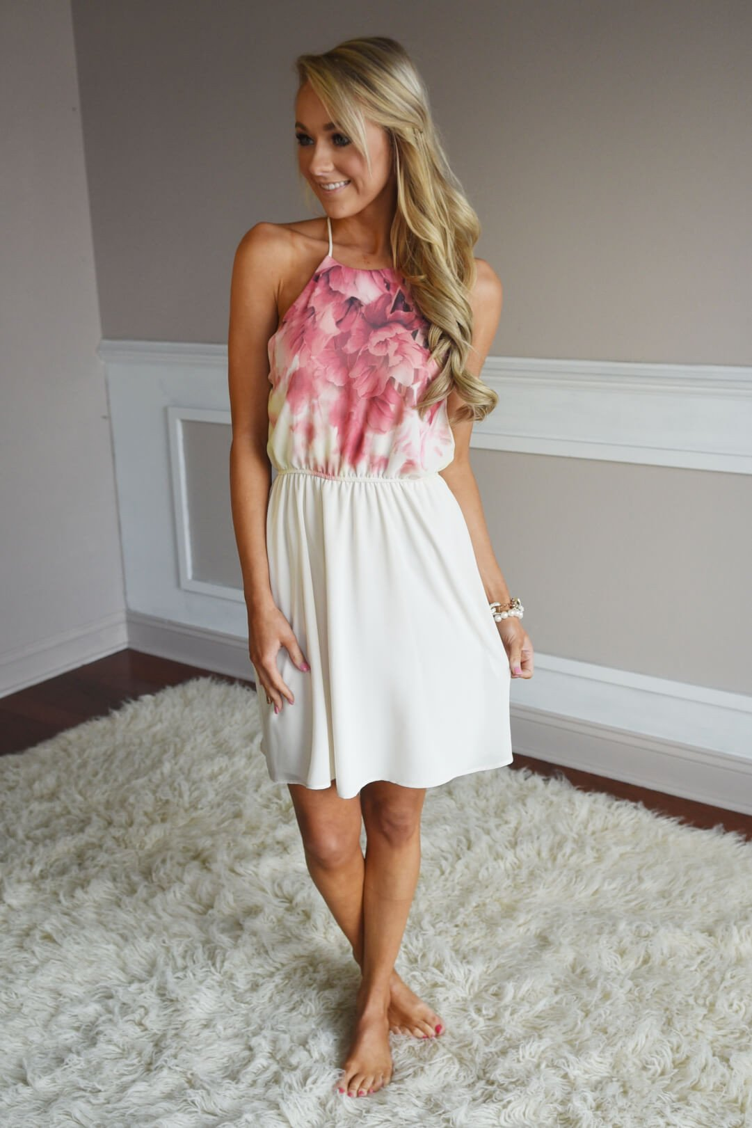 Soft As Petals Dress