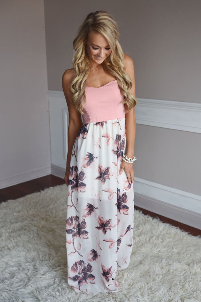 Home Town Beauty Maxi ~ Ivory