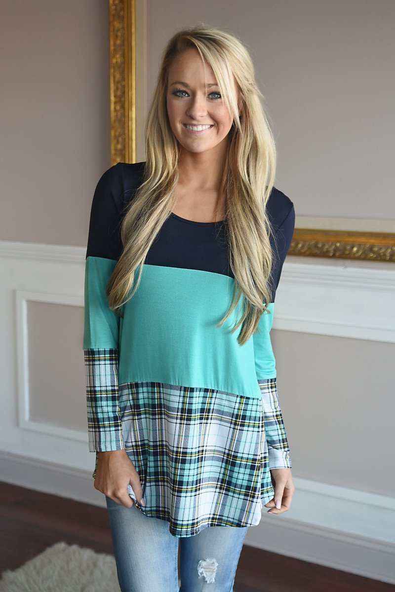 Plaid To Perfection ~ Mint