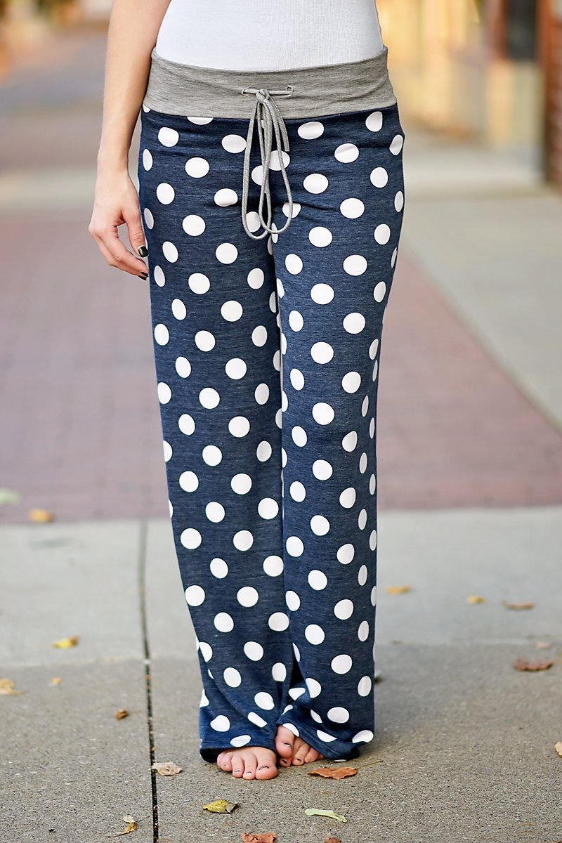 Polka Dot Lounge Pants