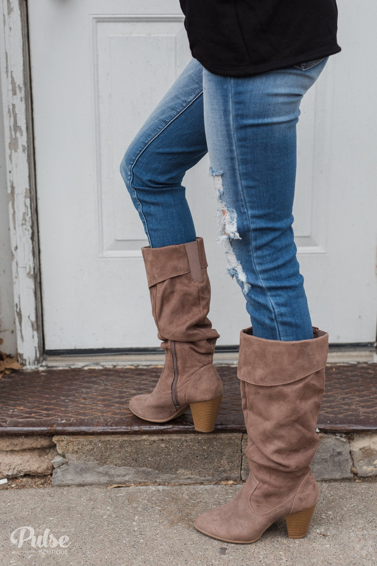 Rampage Venga Boots- Taupe