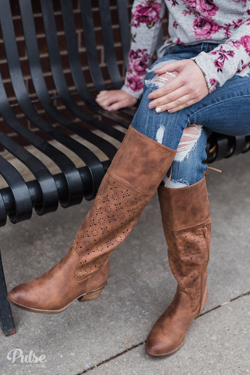 Not Rated Hermosa Boots- Tan