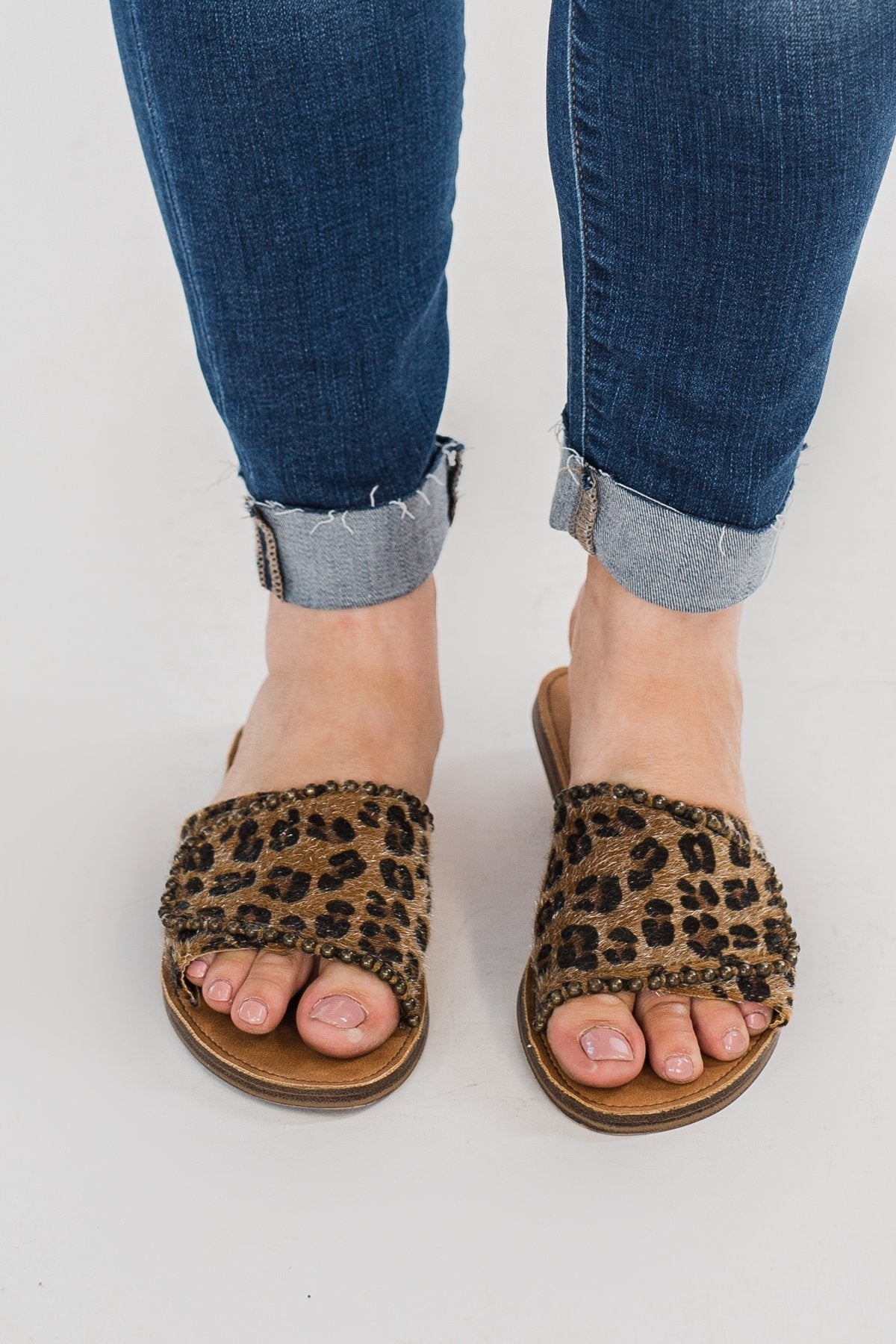 Very G Posh Slides- Leopard