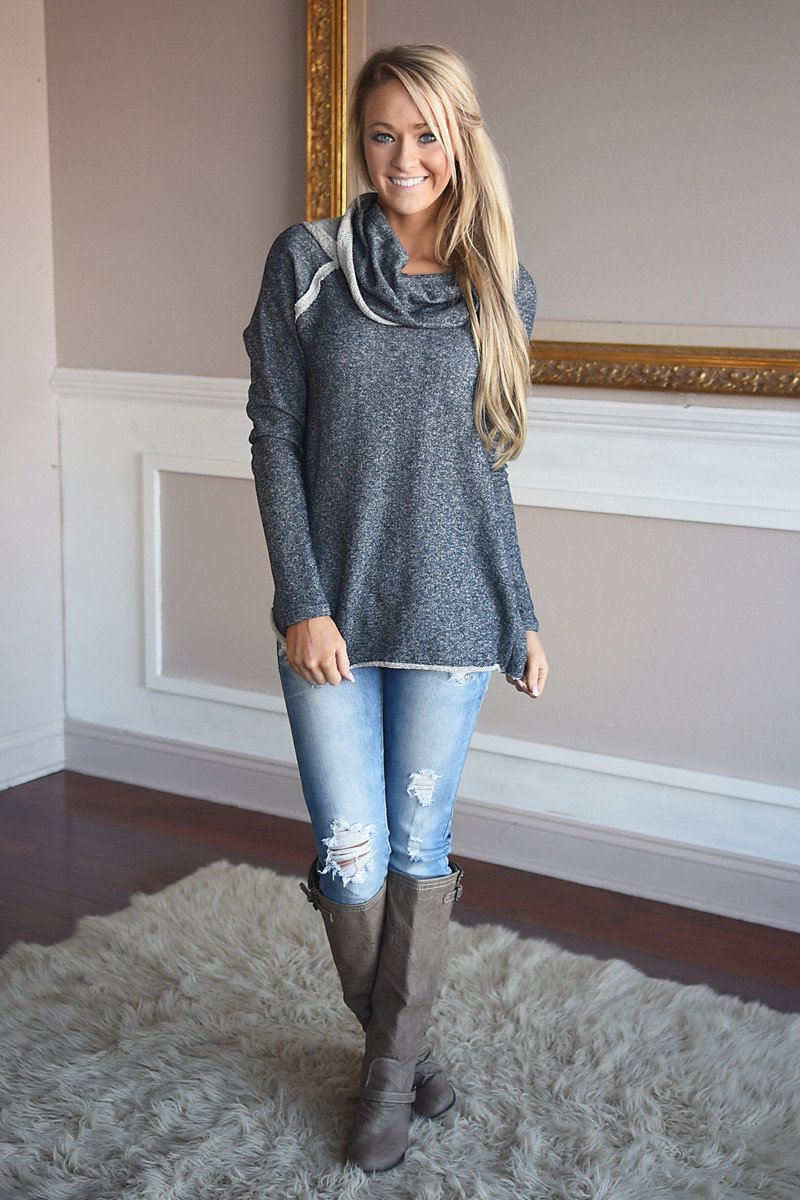 Surprise Me Tunic Top