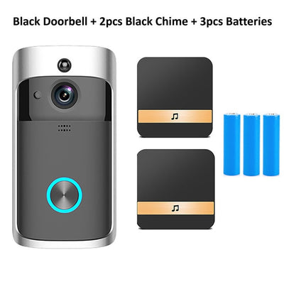 NuffBrands™  EnsureSecure-Doorbell Camera