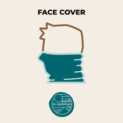 ways to wear a neck gaiter, face cover