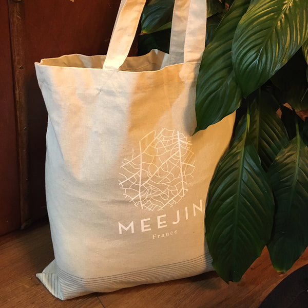 TOTE BAG COTON NATUREL - MEEJIN